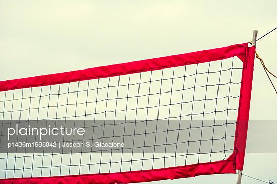 Volleyball net - p1436m1588842 by Joseph S. Giacalone