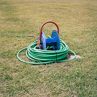 Garden hose - p1083m1119736 by Alain Greloud