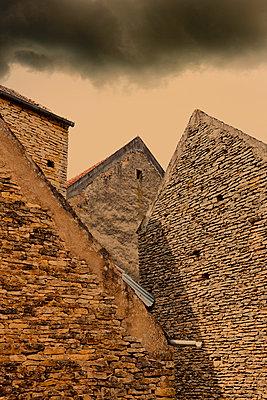Steinfassaden - p248m908355 von BY