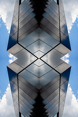 Abstract Architecture Kaleidoscope - p401m2219833 by Frank Baquet