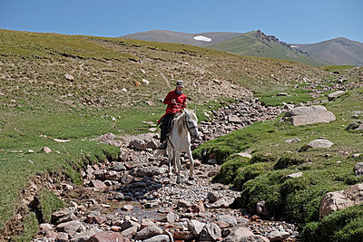 Kirgistan - p759m1207291 von Stefan Zahm