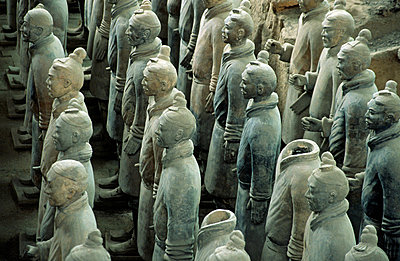 Terracotta army - p9247745f by Image Source
