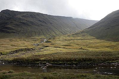 Glen Etive in Scotland - p973m1496219 by Jennifer Rumbach