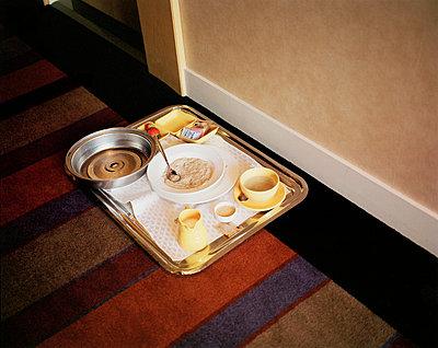 Breakfast in a hotel - p3880214 by Jim Green