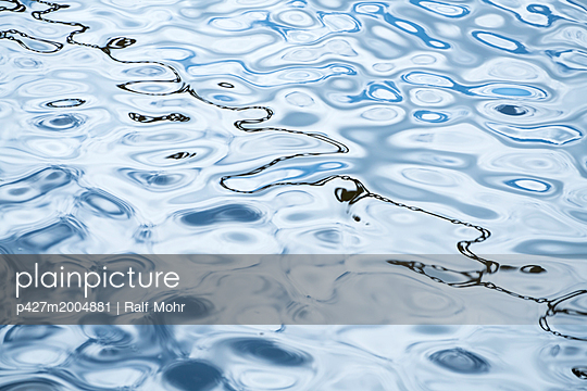 Water surface - p427m2004881 by Ralf Mohr