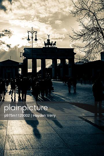 Brandenburg Gate - p975m1129002 by Hayden Verry