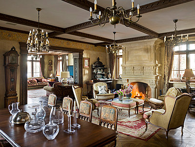 Noble living-room - p3900336 by Frank Herfort