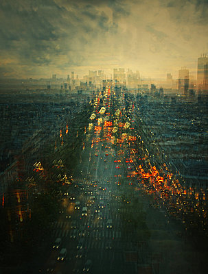Boulevard - p416m1081152 by Stephanie Jung