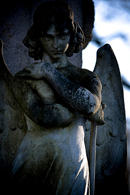 Grave marker - p9793047 by Lang photography
