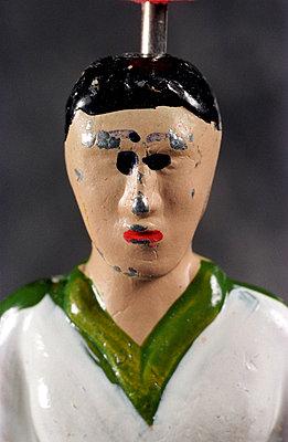 Bemalte Fußballerfigur - p2290007 von Martin Langer