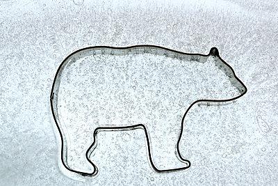Eingefrorener Eisbär - p451m1208185 von Anja Weber-Decker