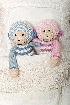 Crocheted blanket - p451m907509 by Anja Weber-Decker