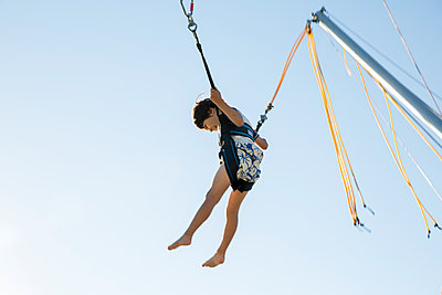 Bouncing Around - p535m2020494 by Michelle Gibson