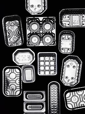 Plastic waste - p509m2141422 by Reiner Ohms