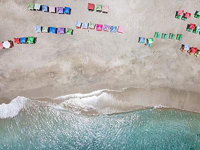 Indonesia, Bali, Karangasem, Aerial view of virgin beach - p300m2070185 by Konstantin Trubavin