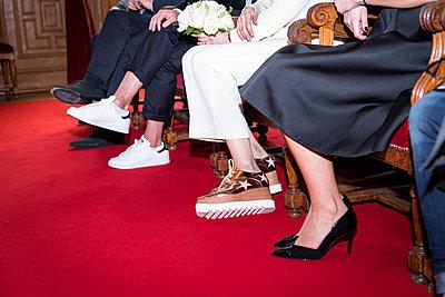 Civil ceremony, Wedding - p1532m2090293 by estelle poulalion