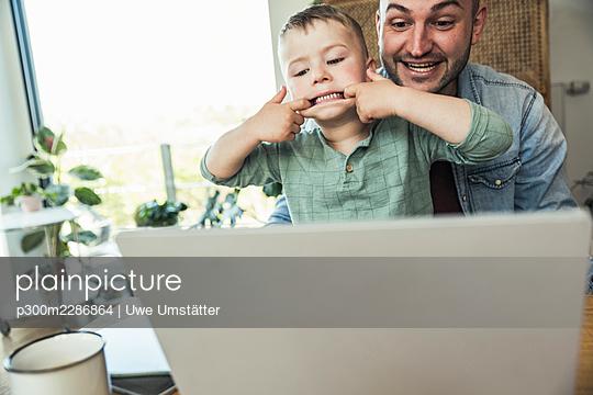 deutschland,mannheim,lifestyle,people,family,zuhause - p300m2286864 von Uwe Umstätter