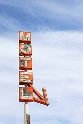 Motel sign - p0452736 by Jasmin Sander