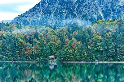 Lake in Oberstdorf;  Germany - p587m854429 by Spitta + Hellwig
