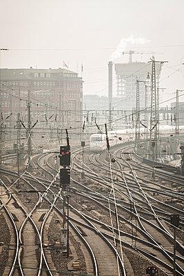 Schienen - p1222m1538262 von Jérome Gerull
