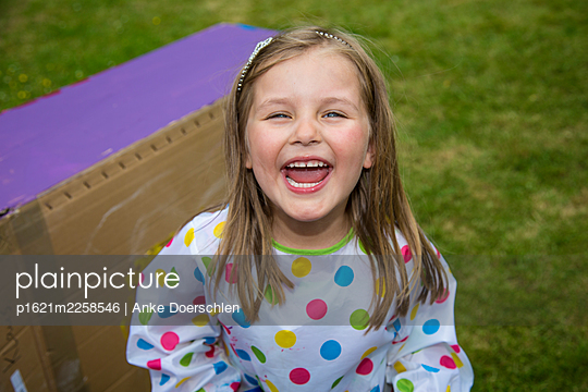 Happy child - p1621m2258546 by Anke Doerschlen