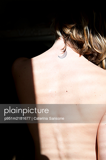 Crescent moon - p951m2181677 by Caterina Sansone