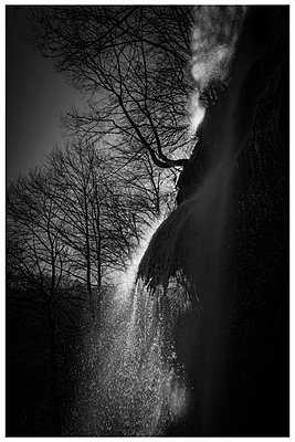 Germany, Baden-Württemberg, Bad Urach, Waterfall - p1564m2294927 by wpsteinheisser