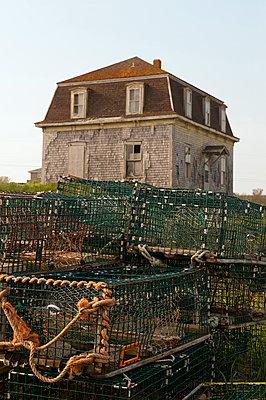 Haus am Cape Saint Mary's Kanada - p470m1207932 von Ingrid Michel