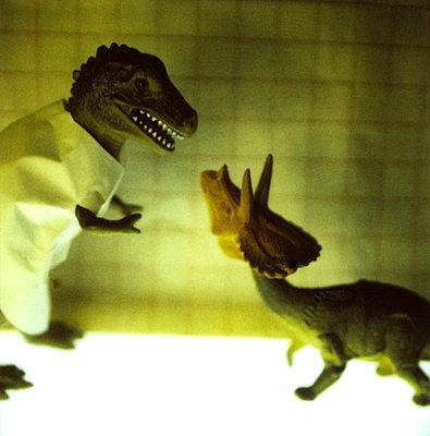 Dinos im Labor - p56710935 von Christophe Boete