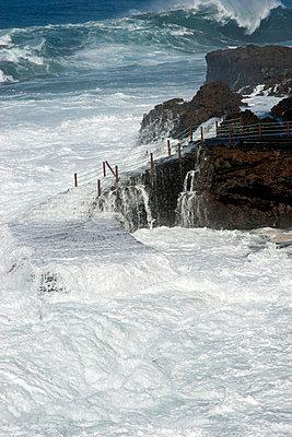 Storm at La Palma I - p451m886798 by Anja Weber-Decker