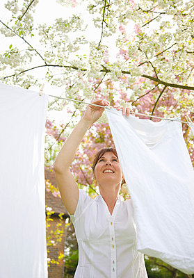 Clothesline - p6690386 by Jutta Klee photography