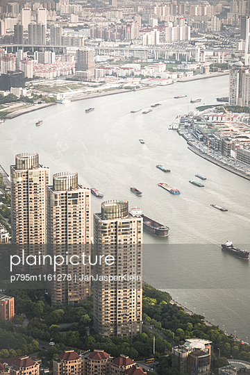 Shanghai von oben - p795m1161278 von Janklein