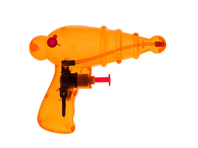 Water pistol - p1280m2157560 by Dave Wall