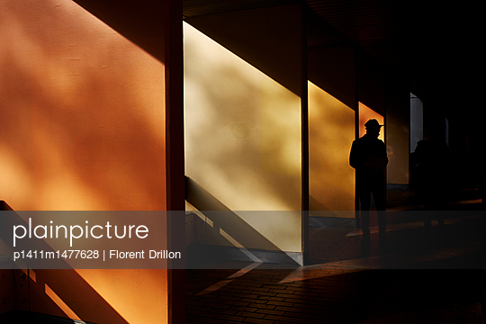Silhouette - p1411m1477628 von Florent Drillon