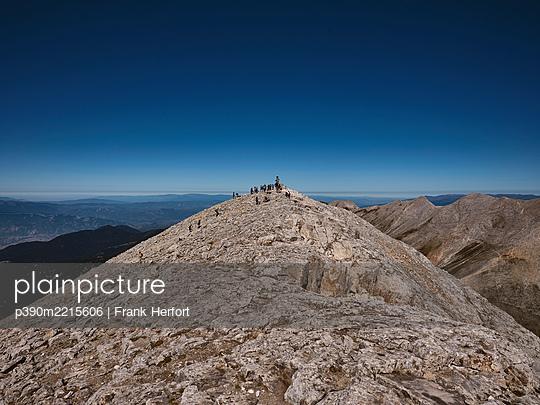 Bulgaria, Peak of the mountain Vihren - p390m2215606 by Frank Herfort