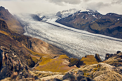 Skaftafell Gletscher - p1305m1190724 von Hammerbacher