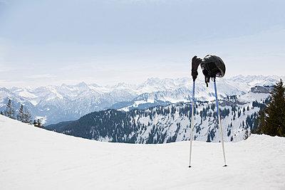 Skifahren - p4350126 von Stefanie Grewel