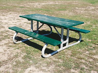 Picnic Table - p1335m1508328 by Daniel Cullen