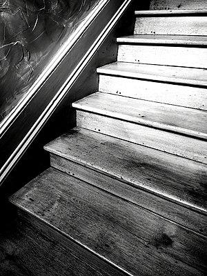 Wooden stairs - p945m2215110 by aurelia frey