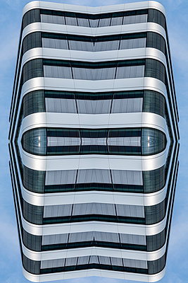 Abstract Architecture Kaleidoscope - p401m2219863 by Frank Baquet