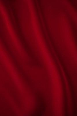 Red silk - p495m906992 by Jeanene Scott