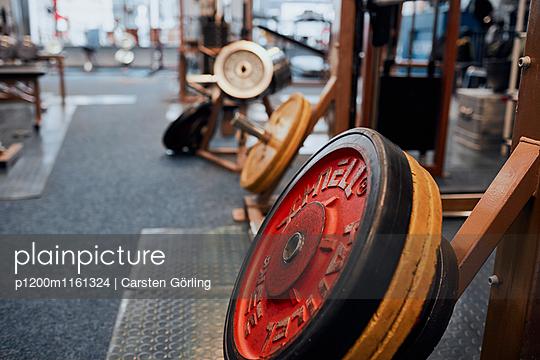 Bodybuiling-Studio - p1200m1161324 von Carsten Görling