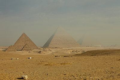 Giza Pyramids - p1010m2277843 by timokerber