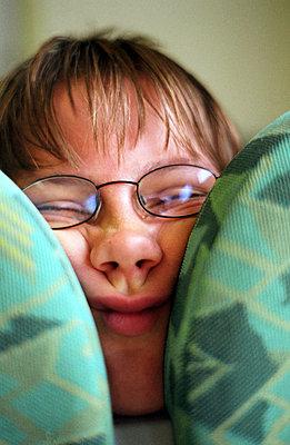 Zwischen zwei Kissen - p0370022 von Barbara Arndt
