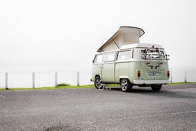 Volkswagen van - p1057m1069422 by Stephen Shepherd