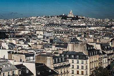 Montmartre und Sacré-Cœur - p1243m1515478 von Archer