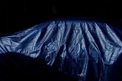 Covered car - p1578m2158496 by Marcus Hammerschmitt