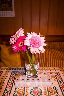 Blumen als Deko  - p930m1491891 von Phillip Gätz