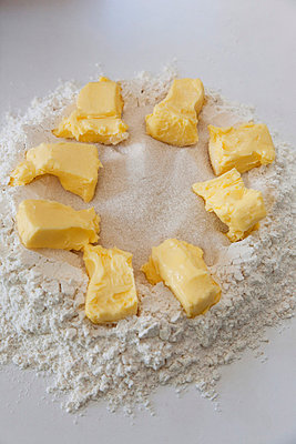 Butter and flour - p6280384 by Franco Cozzo