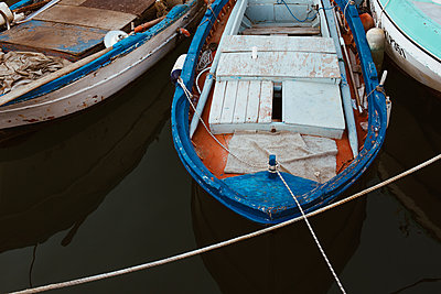 Old Boats - p1623m2294547 by Donatella Loi